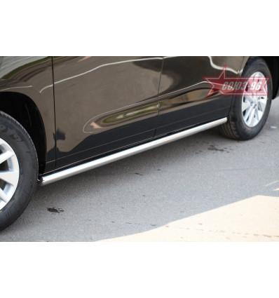 Пороги труба на Toyota Alphard TALP.80.1719