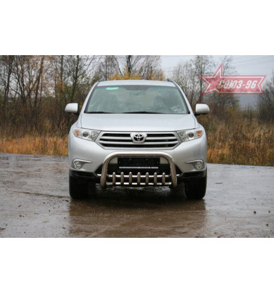 Решетка передняя мини на Toyota Highlander TOHR.57.0949