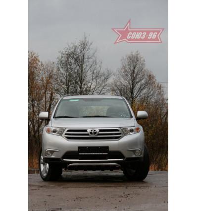 Решетка передняя мини на Toyota Highlander TOHR.57.0951