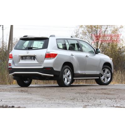 """Защита задняя """"волна"""" на Toyota Highlander TOHR.75.0962"""