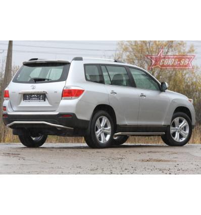 Защита задняя на Toyota Highlander TOHR.75.0965