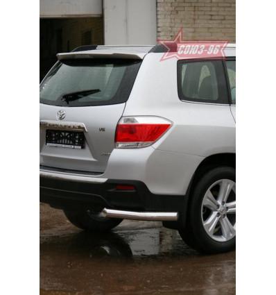 "Защита задняя ""уголки"" на Toyota Highlander TOHR.76.0957"