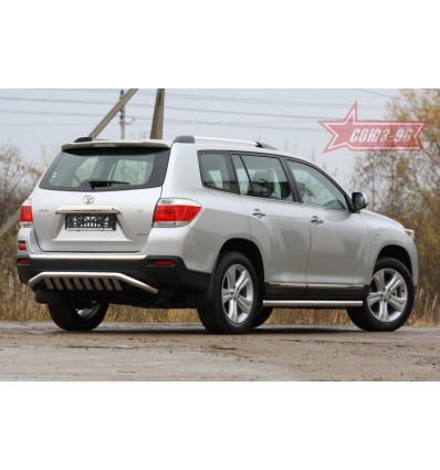 Защита задняя на Toyota Highlander TOHR.79.0963