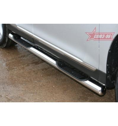 Пороги труба на Toyota Highlander TOHR.81.0956