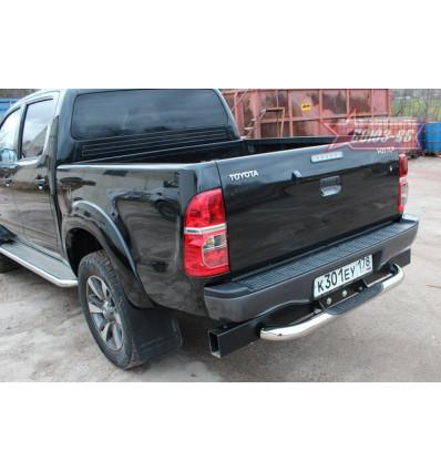 "Защита задняя ""ступень"" на Toyota Hilux TOHX.75.0933"