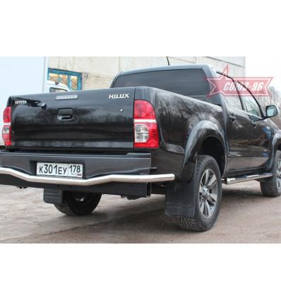 """Защита задняя """"волна"""" на Toyota Hilux TOHX.75.0931"""