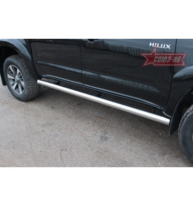 Пороги труба на Toyota Hilux TOHX.80.0874