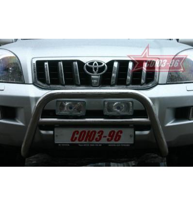 Решетка передняя мини на Toyota Land Cruiser 120 TC12.56.0028