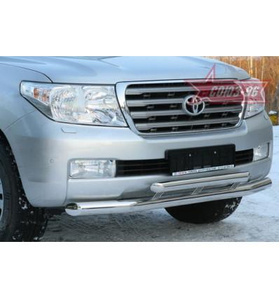 Защита переднего бампера на Toyota Land Cruiser 200 TC20.48.0565