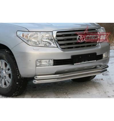 Защита переднего бампера на Toyota Land Cruiser 200 TC20.48.0566