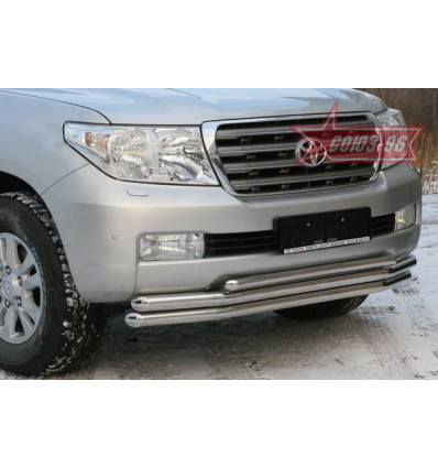 Защита переднего бампера на Toyota Land Cruiser 200 TC20.48.0567