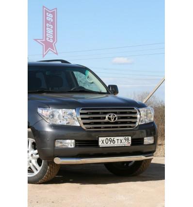 Защита переднего бампера на Toyota Land Cruiser 200 TC20.48.1105
