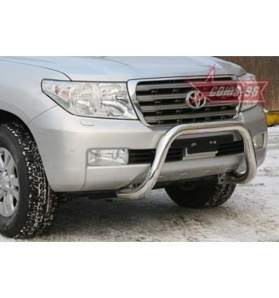 Решетка передняя мини на Toyota Land Cruiser 200 TC20.56.0562