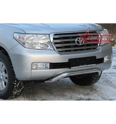 Решетка передняя мини на Toyota Land Cruiser 200 TC20.56.0564