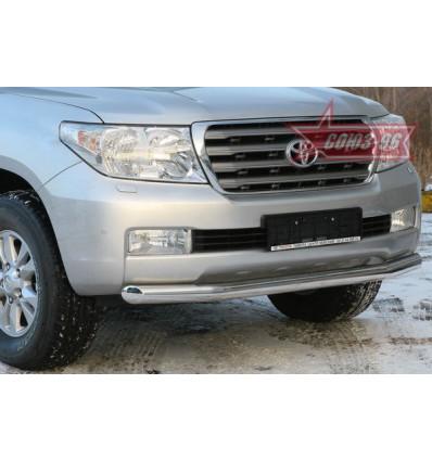 Защита переднего бампера на Toyota Land Cruiser 200 TC20.48.0568