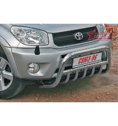 Решетка передняя мини на Toyota Rav 4 TRAV.57.0029