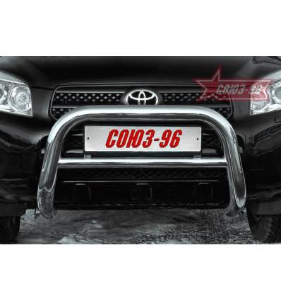 Решетка передняя мини на Toyota Rav 4 TRAV.56.0306