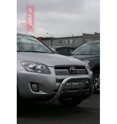 Решетка передняя мини на Toyota Rav 4 TRAV.56.0866