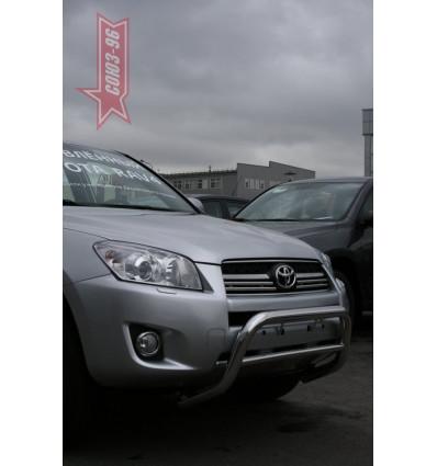 Решетка передняя мини на Toyota Rav 4 TRAV.56.0864