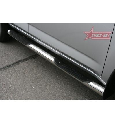 Пороги с проступями на Toyota Rav 4 TRAV.80.0869