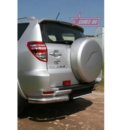 "Защита задняя ""уголки"" на Toyota Rav 4 TRAV.76.0872"