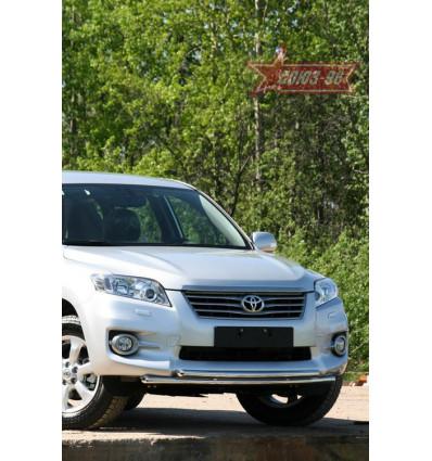 Защита переднего бампера на Toyota Rav 4 TRAV.48.1076
