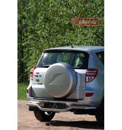 """Защита задняя """"волна"""" на Toyota Rav 4 TRAV.75.1087"""
