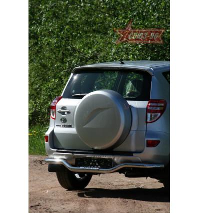 """Защита задняя """"волна"""" на Toyota Rav 4 TRAV.75.1088"""