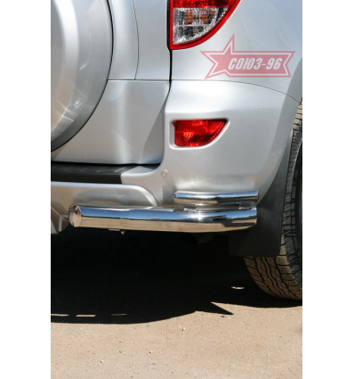 "Защита задняя ""уголки"" на Toyota Rav 4 TRAV.76.1085"