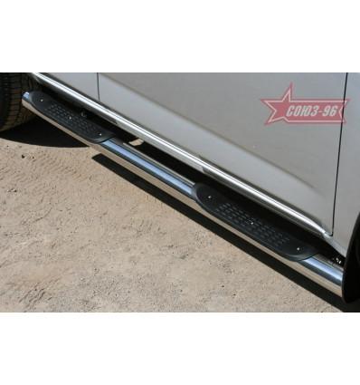 Пороги с проступями на Toyota Rav 4 TRAV.81.1080