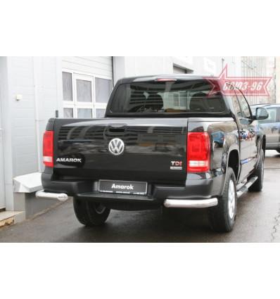 "Защита заднего бампера ""уголки"" на Volkswagen Amarok VWAM.76.1241"