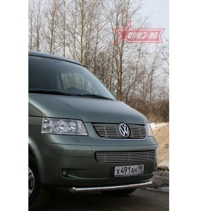 Защита переднего бампера на Volkswagen Multivan VWMU.48.1045