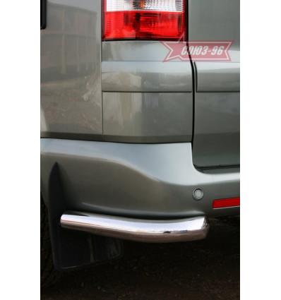 "Защита задняя ""уголки"" на Volkswagen Multivan VWMU.76.1048"