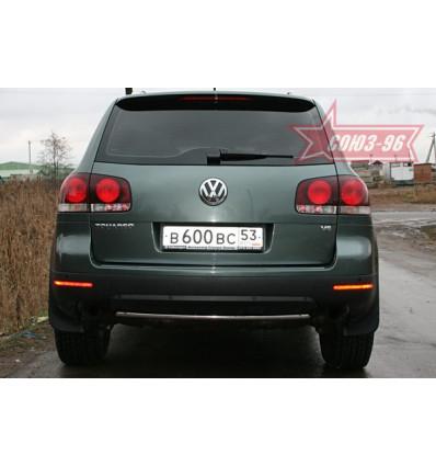 Защитазаднего бампера на Volkswagen Touareg VWTG.75.0596