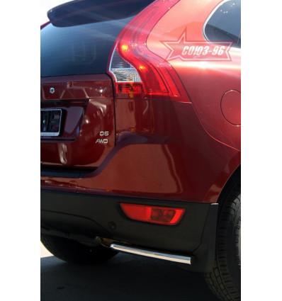 """Защита задняя """"уголки"""" на Volvo XC60 VXC6.76.0844"""