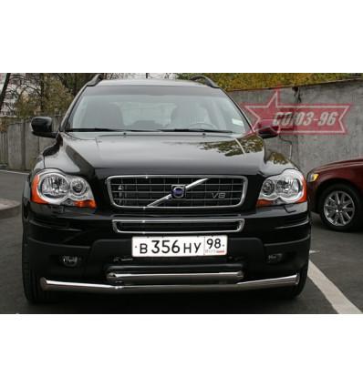 Защита переднего бампера на Volvo XC90 VOXC.48.0538