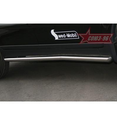 Защита штатных порогов на Volvo XC90 VOXC.86.0543