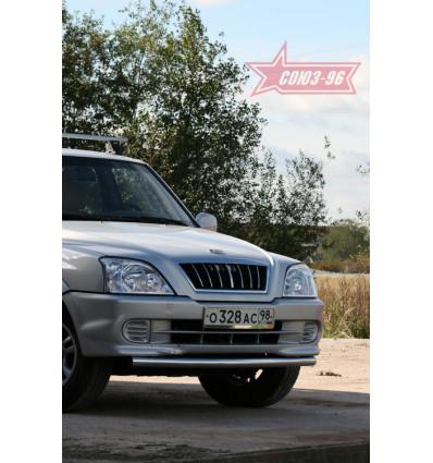Защита переднего бампера на ТагАЗ Road Partner TAGP.48.1184