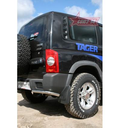 """Защита задняя """"уголки"""" на ТагАЗ Tager TAGR.76.0704"""