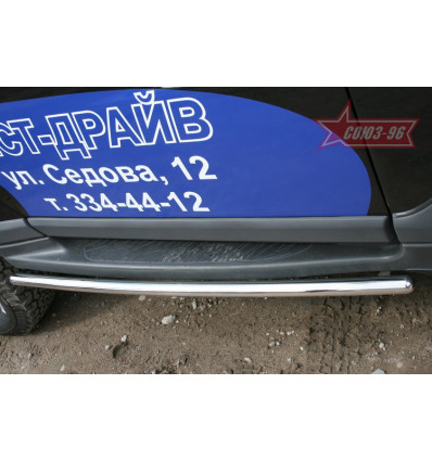 Защита штатных порогов на ТагАЗ Tager TAGR.86.0700