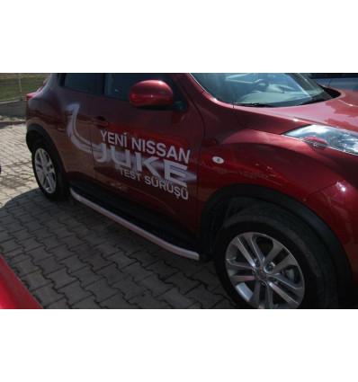 Пороги (Alyans) на Nissan Juke NIJU.47.5021