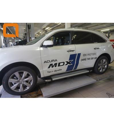 Пороги (Brillant) на Acura Mdx ACMD.48.2502