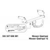 Фаркоп на Nissan Qashqai 332327600001