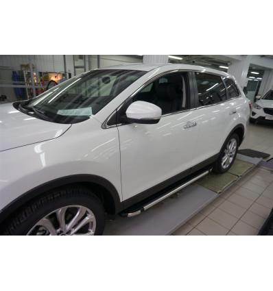 Пороги (Brillant) на Mazda CX-9 MAC9.48.0128