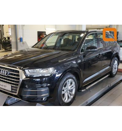 Пороги (Brillant) на Audi Q7 AUQ7.48.0027