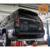 Защита заднего бампера  Cadillac Escalade CAES.57.3349