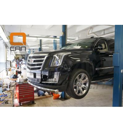 Защита переднего бампера  Cadillac Escalade CAES.33.3348