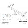 Фаркоп на Jeep Cherokee 342208600001