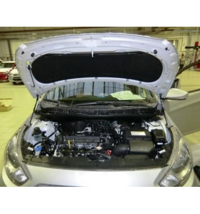 Амортизатор (упор) капота на Hyundai Solaris BD055
