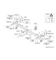 Фаркоп на Citroen DS4 538800